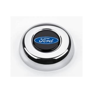 Grant Hupenknopf Chrom mit Ford Logo