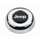 Grant Hupenknopf Chrom mit Jeep Logo