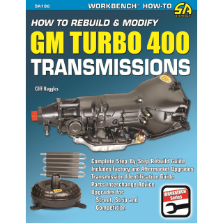 SA Design How to Rebuild and Modify GM Turbo 400 Transmissions SA186 Werkstatthandbuch